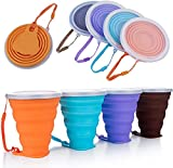 collapsible cups with lids