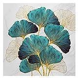 Cuadros En Punto De Cruz Paste Diamond Cross Stitch 5D Three-Dimensional Diamond Painting Invisible Leaves-50 * 50cm