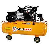 Compresseur d'air - 230 V - 10 bar - 100 l - 350 l/min - Compresseur d'air comprimé.