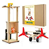 OSOYOO Lift Elevator & Airplane DIY Craft Kit for Kids | Builds Two Wooden Models | 3D Wood Easy to Assemble Puzzle | Early Learning STEM Project | Includes Detailed, Step by Step Kid Friendly Manual