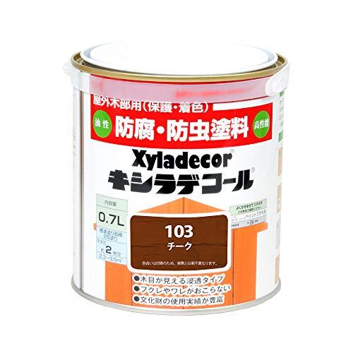 大阪ガスケミカル株式会社 キシラデコール チーク 0.7L