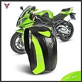 Mochila de Fibra de Carbono para Montar en Motocicleta Mochila de...