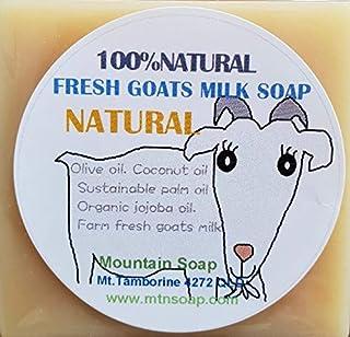 【Mountain Soap】マウンテンソープ 農場直送絞りたて生乳使用 ゴートミルク石鹸 ナチュラル