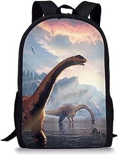 Mochila para niños, diseño de dinosaurio, diseño de dinosaurio, diseño de dinosaurio, mochila de viaje al aire libre, para niñas y niños