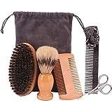 5PCS Beard Care Kit for Men, Mustache...