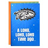 Hallmark Star Wars Funny Birthday Card with Sound (Long, Long, Long Time Ago) (699RKB1000)