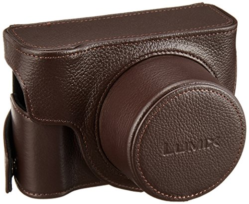 Panasonic DMW-CLX100 Leather Fitted Case for DMC-LX100, Brown