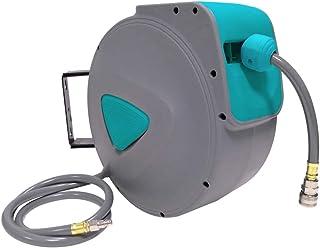 9,5x15mm Enrouleur de tuyau dair comprim/é raccord en laiton 1//4 BSPT Poppstar Devidoir de tuyau dair avec rembobinage automatique tuyau: 30m + 2m, diam/ètre int/érieur 3//8