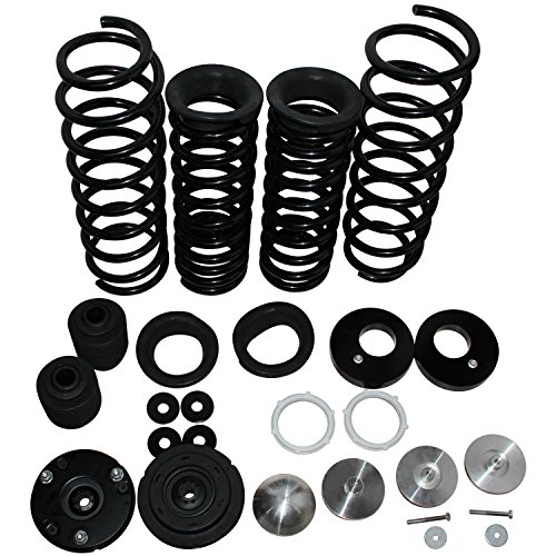 Front Rear Air Suspension to Coil Spring Conversion Kit Replacement Compatible with 2006 2007 2008 2009 Range Rover L322