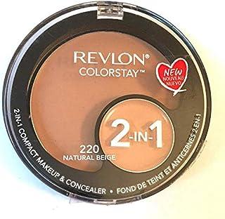 Revlon Colorstay 2-in-1 Makeup & Concealer- 220 Natural Beige