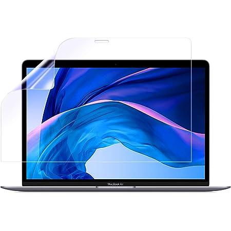 Apple MacBook Air/Pro 13インチ 2020年モデル 用 液晶保護フィルム 防指紋(クリア)タイプ