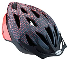 This Schwinn Thrasher lightweight helmet is designed for adults. Suggested age range: 14 years old and up. Suggested head circumference: 22.88-24.5 inches Schwinn 360° Comfort pairs a dial-adjustable fit system with full-range padding for the perfect...