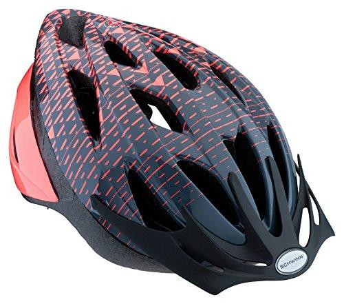Schwinn Thrasher Bike Helmet, Lightweight Microshell Design, Adult, Coral