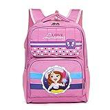 Tinytot Designer Hi Storage School Backpack School Bag for Girls (Pink) 23 L
