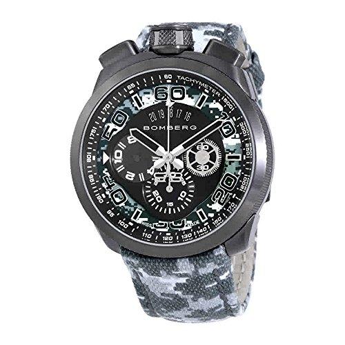 Bomberg Bolt-68 Orologio cronografo da uomo grigio mimetico BS45CHPGM.019.3