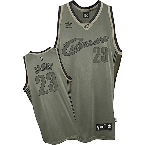 adidas Lebron James Cleveland Cavaliers Field Issue NBA Officially Licensed Swingman Jersey (Large)