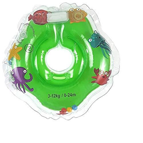 Kinder Schwimmender Schwimmen Ring Aufblasbarer Baby Schwimmring Kommt by (Grun)