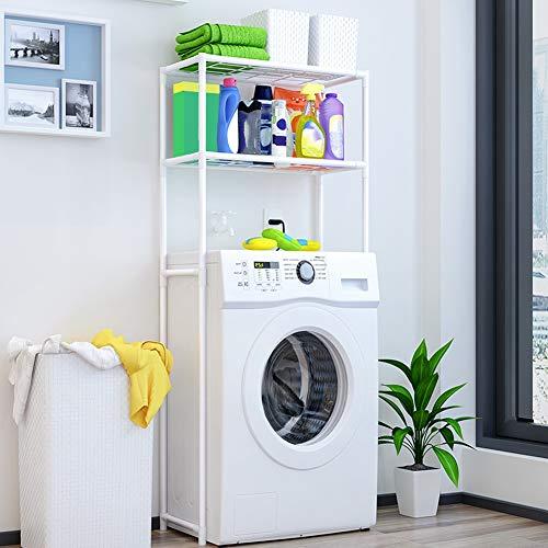 Estantería de baño, estantería sobre la lavadora y el inodoro, mueble para colocar encima del inodoro, mueble encima