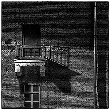 На балконе