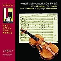 Mozart - Violin Concerto No 5 - 4 recordings (2006-10-30)