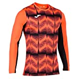 Joma Camiseta M/L Portero Derby IV 101301 Coral Fluo Fashion Camiseta Hombre, 101301_041_XL, Corallo Fluo, X-Large