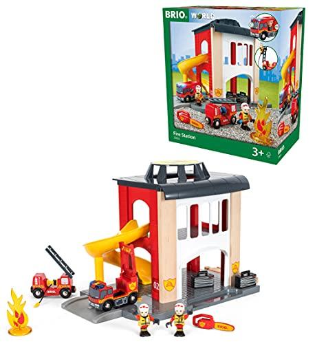 BRIO World 33833 Große Feuerwehr...