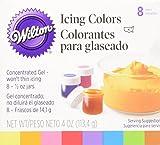 Wilton Icing Colors .5Oz 8/Pkg
