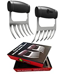 *** INSTANT 10% SAVINGS ON PURCHASE OF 2 OR MORE *** THE PREMIER MEAT SHREDDING CLAWS - Every feature has been designed for Maximum Performance whether you're pulling chicken, beef, brisket, turkey, poultry, hams, roasts or any other food from your g...