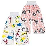 FLYISH DIRECT Conjunto de 2 Pantalones de Entrenamiento para bebés,...