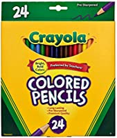 Crayola 68 4012 Full Size Colored Pencils
