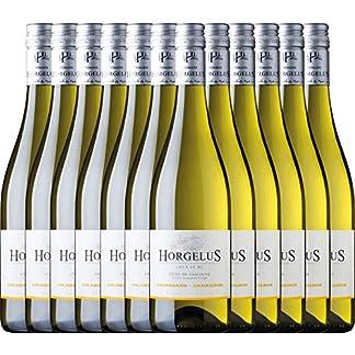 12er-Paket-Horgelus-Blanc-Domaine-Horgelus-mi-trockener-Weisswein-franzoesischer-Sommerwein-aus-Sud-Ouest-12-x-075-Liter