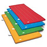 体操マット エステル カラーマット ブルー SGマーク付 サイズ:90×180×5cm