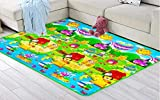 Goank Waterproof Single Side Baby Play Crawl Floor Mat for Kids Picnic School