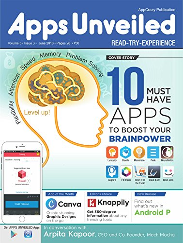 Apps Unveiled: June 2018 (English Edition)