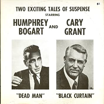 Two Exciting Tales of Suspense - Dead Man and Black Curtain