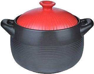 CJTMY Cazuela - Piedra de cerámica Crisol de guisado de Fuego de Alta Temperatura de la Salud Inicio Gas cazuela