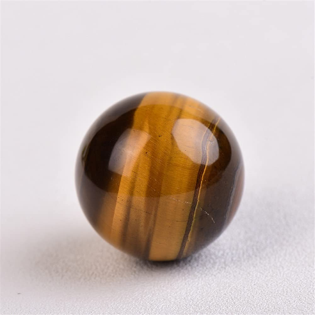 1PC Natural Tiger Direct stock discount Eye Stones Ball Ore Banded He Polished Great interest Mineral