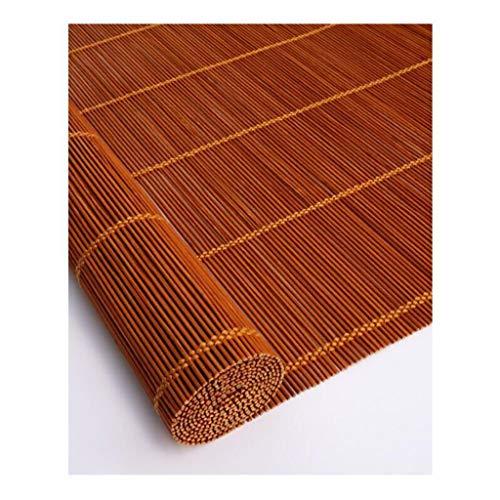 MYMAO 01Jaloezieën blind bamboe gordijn - koord bamboe gordijn stofdicht en waterdicht [5 kleuren 9 maten] aanpasbaar