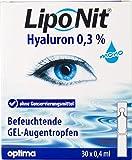 Liponit Augentropfen Gel mono 0,3% Hyaluron, 1er Pack(1 x 20 ml) LNMG -