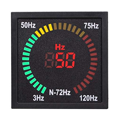 EmNarsissus Indicador de señal de frecuencia de CA N-72Hz, Pantalla Digital LED...