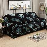 MKQB Funda de sofá de celosía elástica, decoración del hogar...