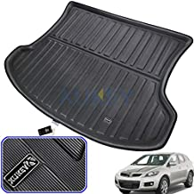 XUKEY for Mazda CX-7 CX7 2007-2017 Cargo Liner Boot Rear Trunk Mat Tray Floor Carpet Luggage Tray Mud Kick Pad Tailored