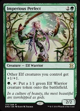 Magic The Gathering - Imperious Perfect (173/249) - Eternal Masters