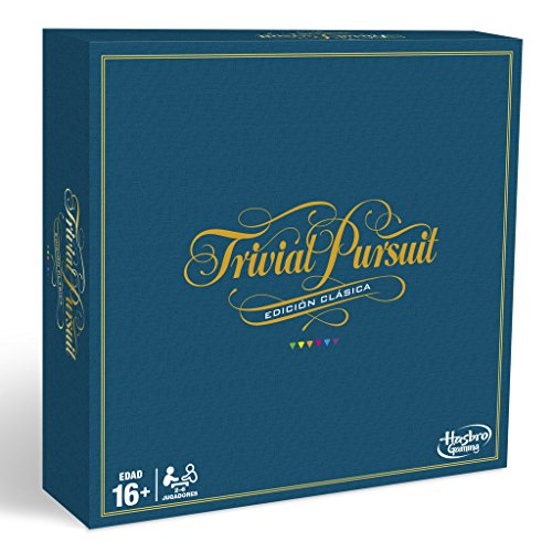 Hasbro Gaming C1940105 – Trivial Pursuit, klassische Edition (spanische Version)
