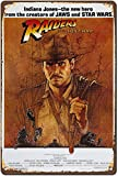 Vintage Poster 1981 Indiana Jones Raiders of The Lost ark