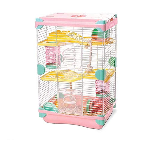 GJNVBDZSF Cages Hamster, Medium Large and Durable Hamster Nest Soft Plush Pet Cage Portable Home