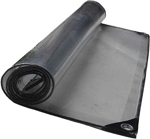 ZXPzZ Tissu Antipluie épais Sun Room Plant Hangar Bache Transparente Tente Bache étanche Climatisation Salle De Lavage De Voiture Tente Transparente Tissu (Taille   2×8m)