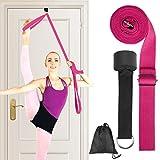 HellDoler Yoga Strap per Lo Stretching,Equilibrio e Rinforzo Ideale per Balletto, Perfetta per la Ginnastica e attività Sportiva