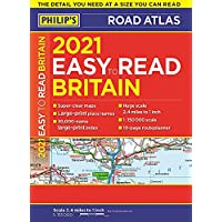 2021 Philip's Easy to Read Britain Road Atlas: (A4 Paperback) (Philip's Road Atlases)