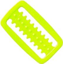 Passador de Cinto Plástico Serrilhado Cetus